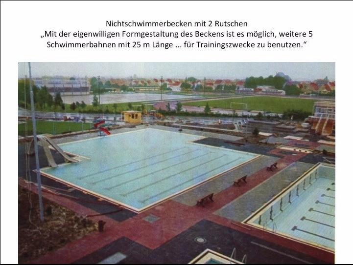 Das Schwimmbad vor 40 Jahren