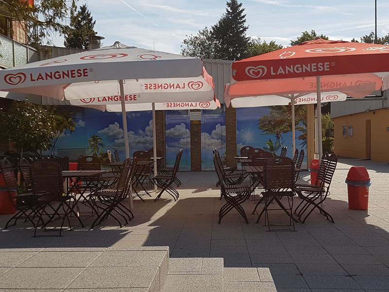 Kiosk im Freibad Egelsbach